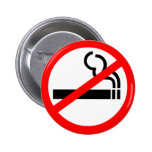 No Smoking Symbol Badges