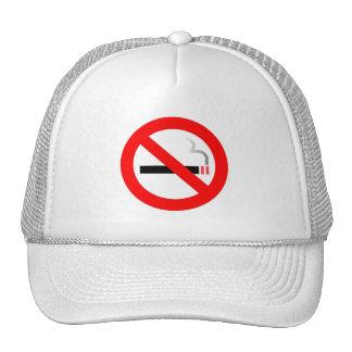 No Smoking Symbol Custom Hat