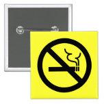 No Smoking Symbol Pin