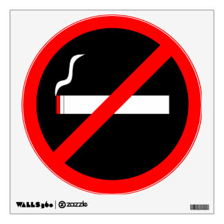 No Smoking Wall Sticker
