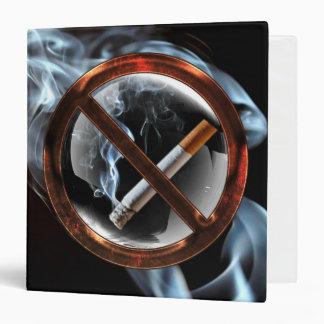 No Smoking Zone Binders