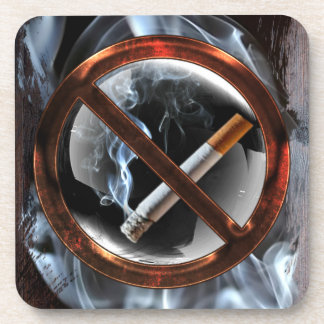 No Smoking Zone Coaster