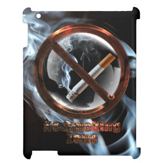 No Smoking Zone iPad Cover