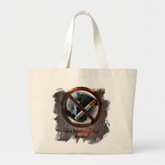 No Smoking Zone Large Tote Bag