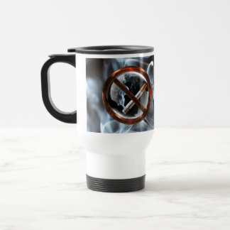 No Smoking Zone Travel Mug
