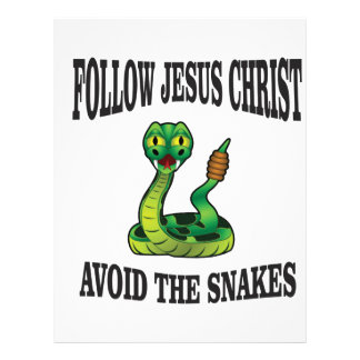 No Snakes with JC Letterhead
