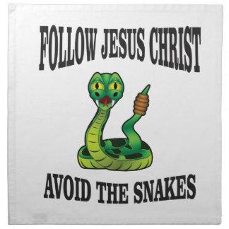 No Snakes with JC Napkin