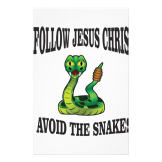 No Snakes with JC Stationery