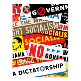 No Socialist Propaganda Postcard
