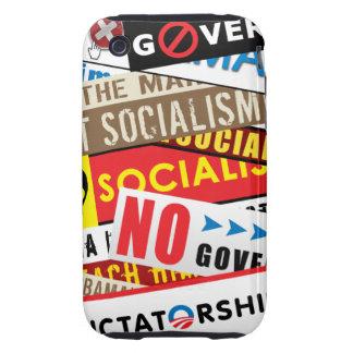 No Socialist Propaganda Tough iPhone 3 Cases
