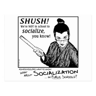 No Socializing! Postcards