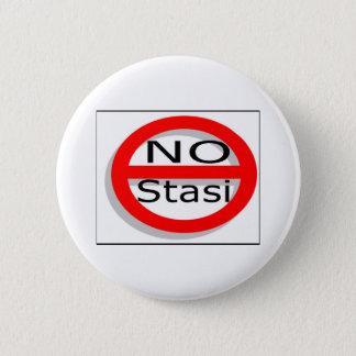 No Stasi 2 Inch Round Button