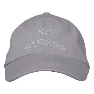 NO STRESS! EMBROIDERED HAT