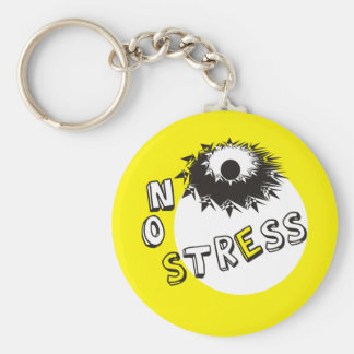 NO STRESS KEYCHAIN