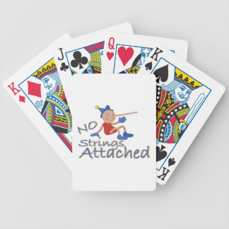 No Strings Bicycle Playing Cards