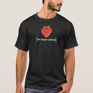 No Sugar Added Strawberry Fruit Pun T-Shirt