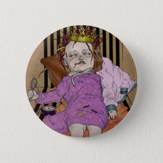 No suicide girl 2 inch round button
