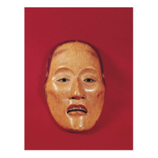 No theatre mask postcard