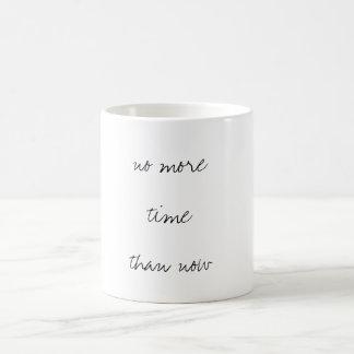 no time coffee mug