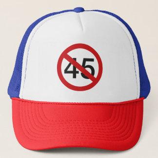 No to 45 baseball cap