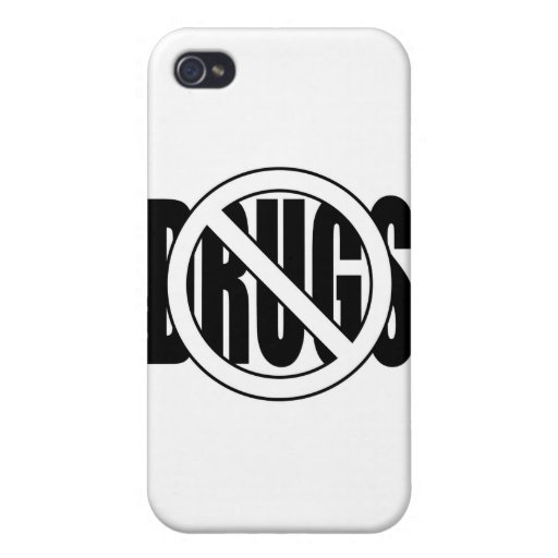 No to Drugs iPhone 4/4S Cover