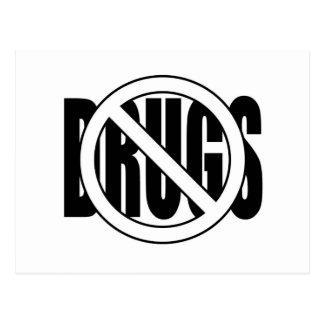 No to Drugs Postcard