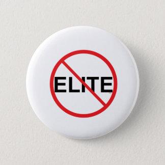 No to Elites 2 Inch Round Button