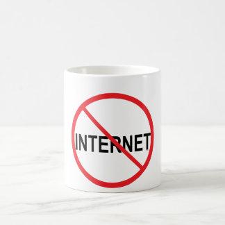 No to Internet Coffee Mug