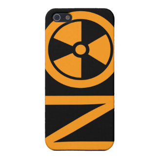 No to Radiation and Nuclear Power iPhone 5 Covers