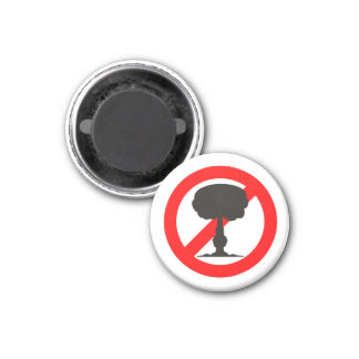 No to the Bomb Magnet