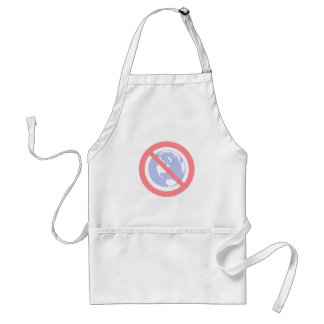 No to the Globe - Flat Earth Standard Apron