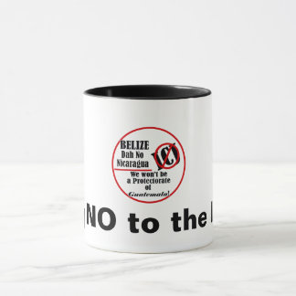 No to the ICJ Mug