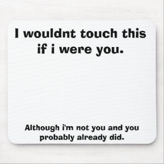 No touchey mouse pad