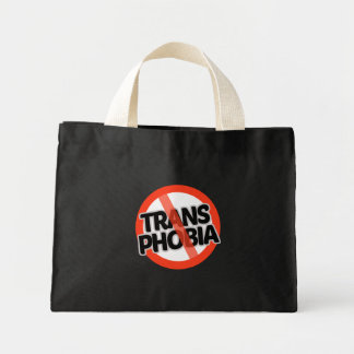 No Trans Phobia - -  Mini Tote Bag