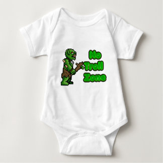 No Troll zone Baby Bodysuit