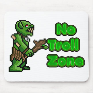 No Troll zone Mouse Pad