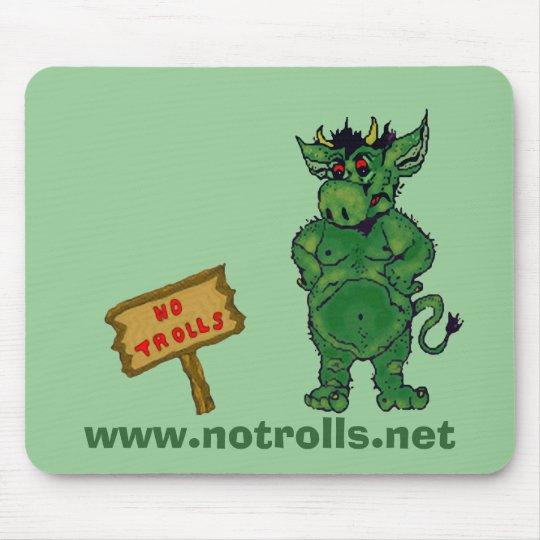 No Trolls Mousepad