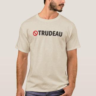 NO Trudeau Sign Canada anti-Liberal Funny T-Shirt