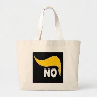 No trump large tote bag