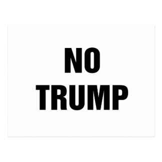 NO TRUMP! POSTCARD
