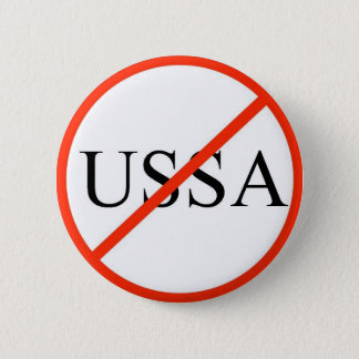 No USSA 2 Inch Round Button
