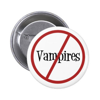 No Vampires Button