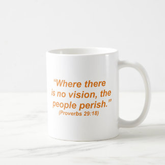 No Vision Coffee Mug