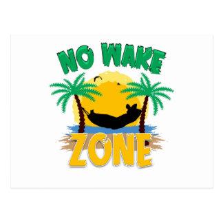 NO WAKE ZONE POSTCARD