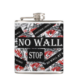 NO WALL HIP FLASK