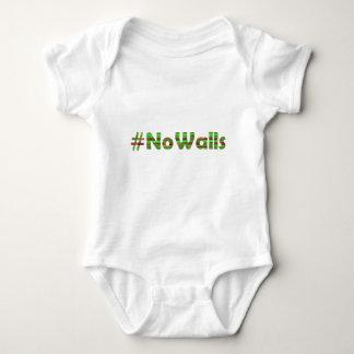 #No Walls Baby Bodysuit