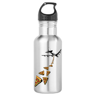 No war more pizza 532 ml water bottle