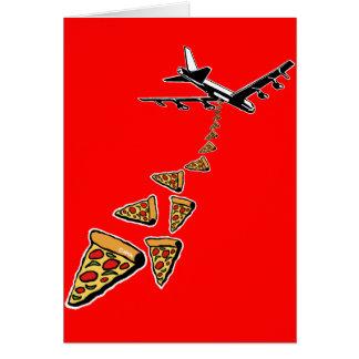 No war more pizza card