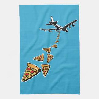 No war more pizza kitchen towel
