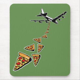 No war more pizza mouse pad